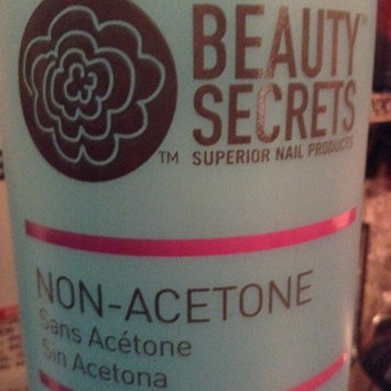 Photo of Beauty Secrets Non-Acetone Nail Polish Remover uploaded by LoLo M.