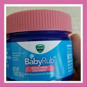 Vicks BabyRub Soothing Ointment uploaded by Sonia M.