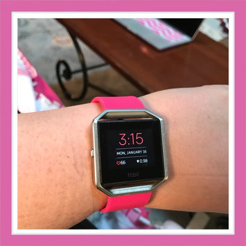 Fitbit uploaded by Melissa V.