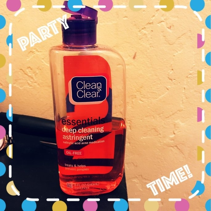 Clean & Clear Essentials Deep Cleaning Astringent uploaded by Brittany H.