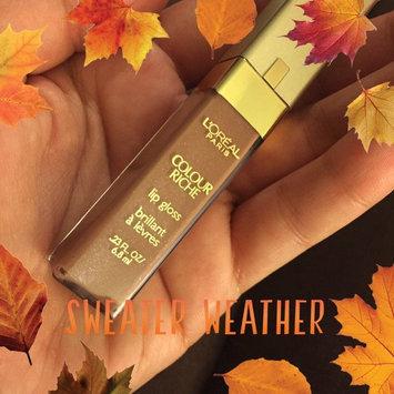 Photo of L'Oréal Paris Colour Riche Lip Gloss uploaded by Elyse C.