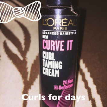 L'Oréal Paris Advanced Hairstyle Curve It Curl Taming Cream, 6.8 uploaded by Nora A.