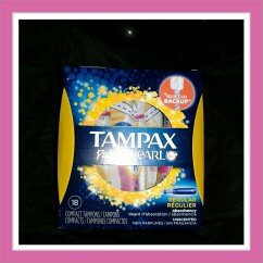 Tampax Pocket Pearl Regular Unscented Compact Tampons 18 ct Box uploaded by jilleann t.