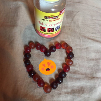 Photo of Nature Made Adult Gummies Hair-Skin-Nails Mixed Berry Cranberry & Blueberry 90 Gummies uploaded by Sara B.
