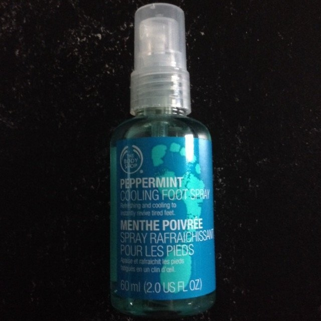 The Body Shop Peppermint Cooling Foot Spray uploaded by Lena R.