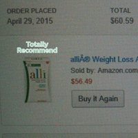 Alli Weight Loss Refill Pack uploaded by Utica W.