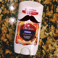 Old Spice Fresher Collection Invisible Solid Antiperspirant/Deodorant, Scent: Amber, 2.6 oz uploaded by Gretchen C.