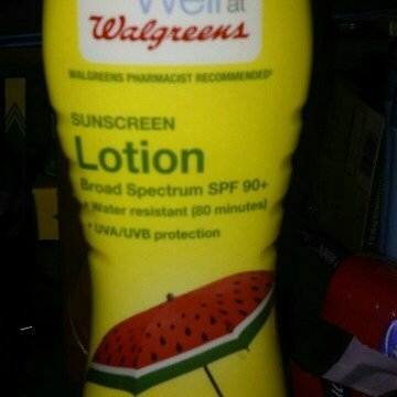 Walgreens Sunscreen Lotion uploaded by natasha h.