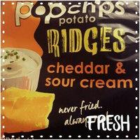 popchips Ridges Cheddar & Sour Cream uploaded by Faith M.