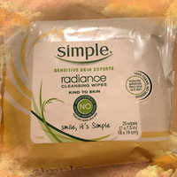 Simple Radiance Cleansing Wipes uploaded by Nicole A.