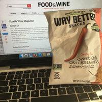 Live Better Brands, LLC. Way Better Sweet Potato Tortilla Chips 5.5 oz uploaded by Taylor N.