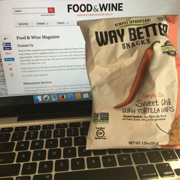 Photo of Live Better Brands, LLC. Way Better Sweet Potato Tortilla Chips 5.5 oz uploaded by Taylor N.