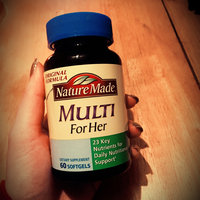 Nature Made Multi For Her Dietary Softgels Original Formula - 60 CT uploaded by Rachel E.