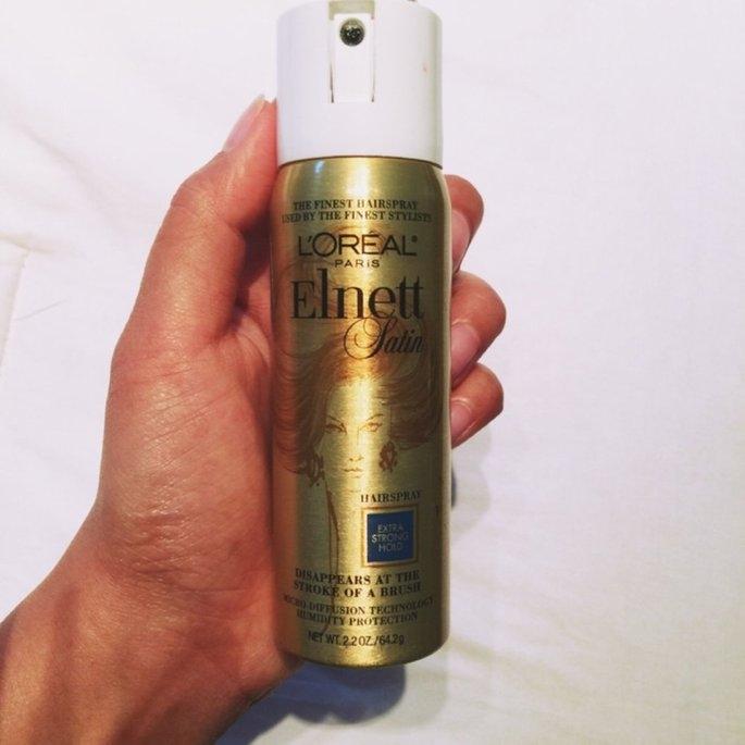 L'Oréal Elnett Satin Hairspray uploaded by Kamille G.