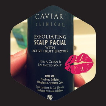 Photo of ALTERNA CAVIAR CLINICAL(R) Exfoliating Scalp Facial 3 oz uploaded by Suzanne T.