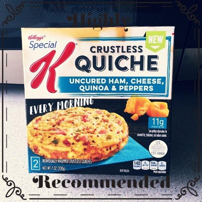 Kellogg's® Special K® Crustless Quiche 7 oz. Box uploaded by Heather E.