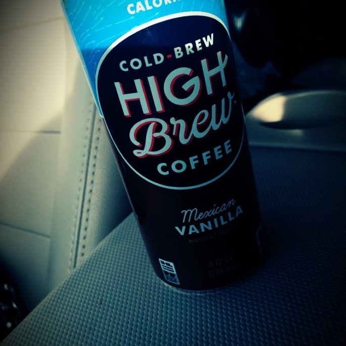High Brew Cold Brew Mexican Vanilla Coffee, 8 fl oz, (Pack of 12) uploaded by Whitney C.