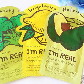 Tony Moly - I'm Real Avocado Mask Sheet (Nutrition) 10 pcs uploaded by Vanna L.