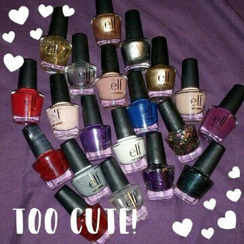 Photo of E.l.f. Cosmetics e.l.f. Essential Holiday 10 Piece Nail Polish Set uploaded by carly k.