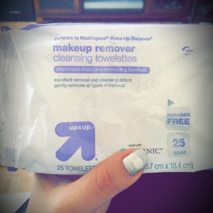 up & up Makeup Remover Cleansing Towelettes uploaded by Karen O.