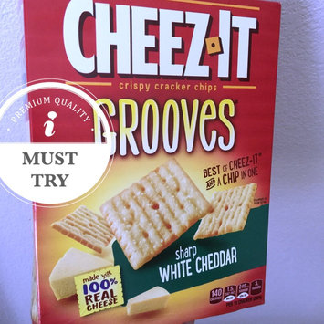 Cheez-It Grooves Zesty Cheddar Ranch Crackers 9 oz uploaded by Mhar S.
