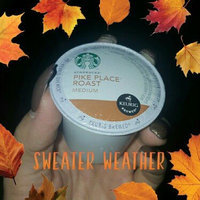 Starbucks Coffee Pike Place Roast K-Cups uploaded by Angelina A.