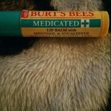 Photo of Burt's Bees Medicated Lip Balm uploaded by cora c.