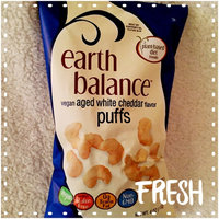 Earth Balance Vegan Puffs Aged White Cheddar Flavor uploaded by Amanda M.