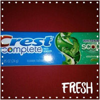 Crest Whitening Plus Scope Fluoride Anticavity Toothpaste uploaded by Tracy B.