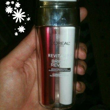 L'Oréal Paris Revitalift Bright Reveal Brightening Dual Overnight Moisturizer uploaded by Danielle R.