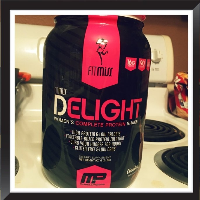 FitMiss Delight Women's Complete Protein Shake Chocolate Delight uploaded by Aimee C.