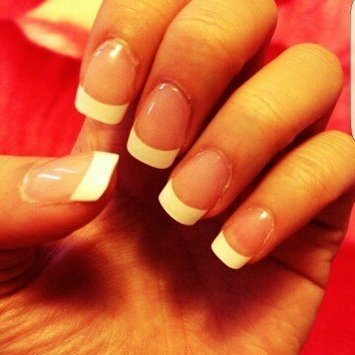 Kiss Everlasting French Pearl French Tip Nails Real Short Length - 28 CT uploaded by bryana a.