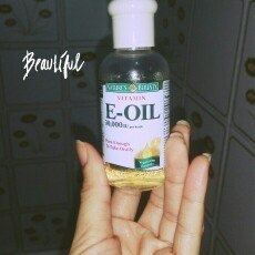 Nature's Bounty Natural Vitamin E-Oil Dietary Supplement uploaded by Farah B.