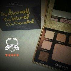 Photo of tarte Double Duty Beauty Day/Night Eye & Cheek Palette uploaded by Tiffany F.