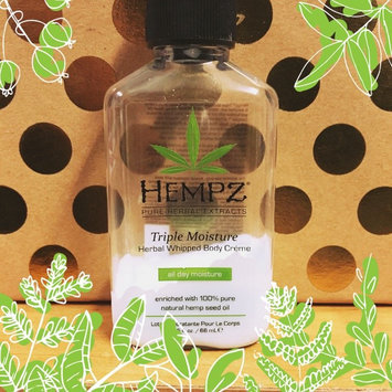 Photo of Hempz Triple Moisture Herbal Whipped Body Crème uploaded by Aerial P.