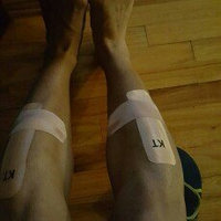 KT Tape Kinesiology Therapeutic Tape Pro Precut Strips uploaded by Tyrone B.