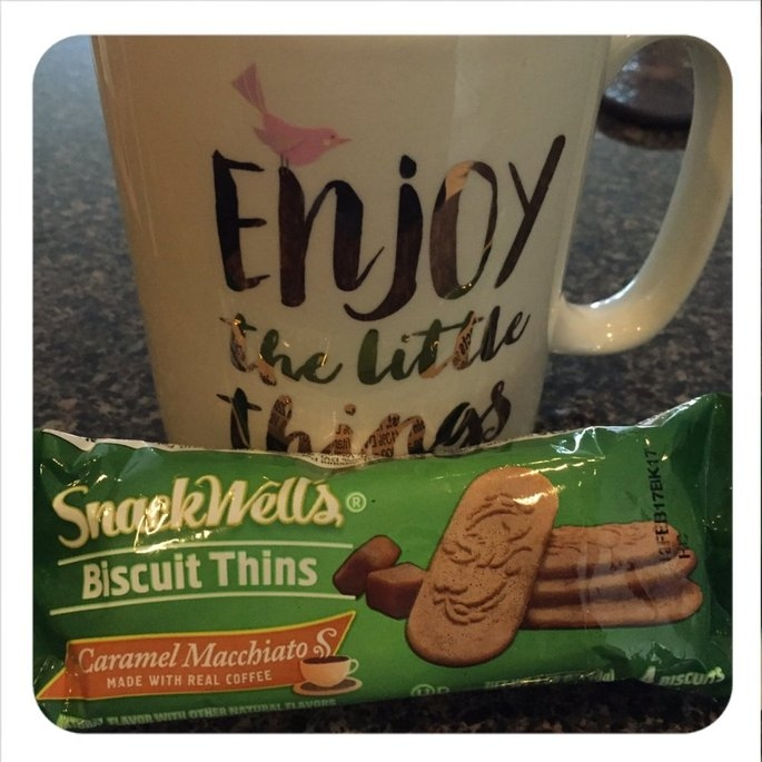 SnackWell's Caramel Macchiato Biscuit Thins uploaded by Carrie R.