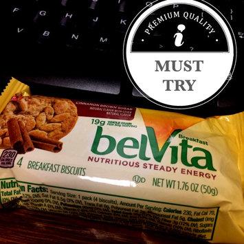 Nabisco® belVita® Cinnamon Brown Sugar Breakfast Biscuits 1.76 oz. Pack uploaded by Paulina W.