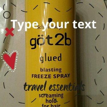 Photo of göt2b® Glued® Freeze Blasting Spray uploaded by Susan C.