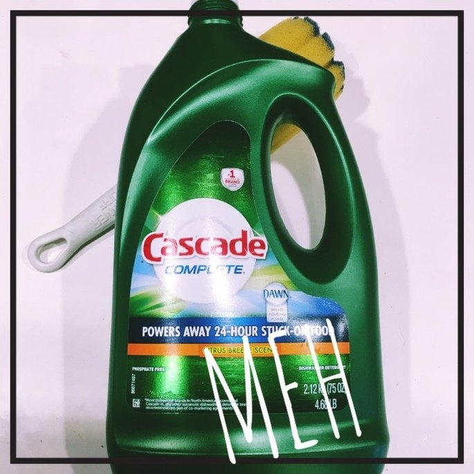 Cascade Complete Dishwasher Dish Detergent uploaded by Jessica W.