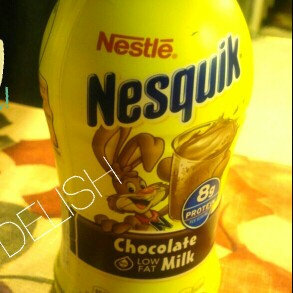 Photo of Nesquik® Chocolate Ready-to-Drink Fat Free Milk uploaded by Stina C.
