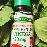 Nature's Truth Apple Cider Vinegar 650mg, Capsules, 60 ea uploaded by Allison L.