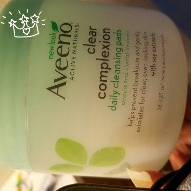 Aveeno Clear Complexion Daily Cleansing Pads uploaded by Stefaniee S.