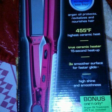 Conair BABNT3050 Pro Nano Titanium Mini Straightening Iron uploaded by Teresa V.