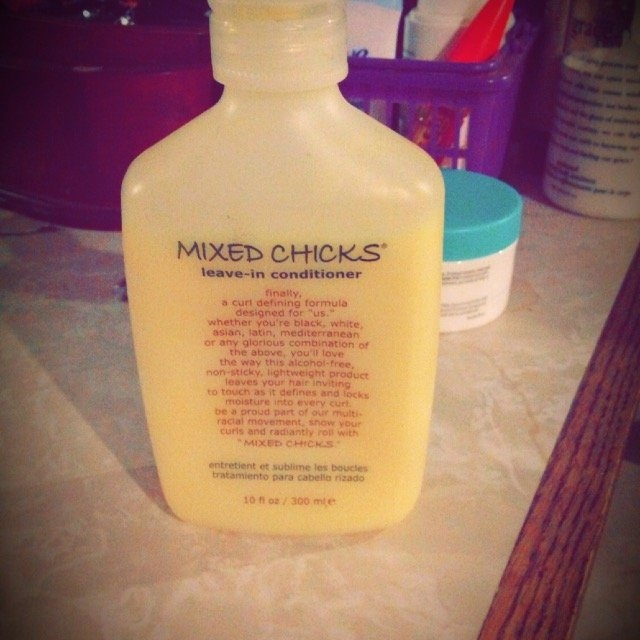 Mixed Chicks  Leave In Hair Conditioner uploaded by Niki J.