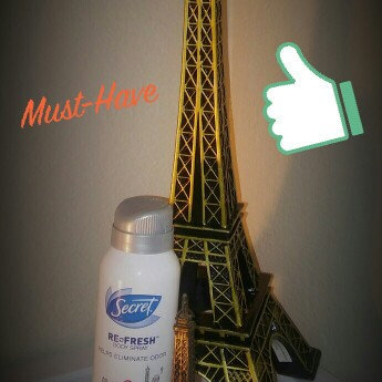 Secret Re-Fresh Body Spray, Paris Romantic Rose, 3.75 oz uploaded by Ayerim G.