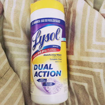 Lysol Dual Action Disinfecting Wipes uploaded by Diana B.