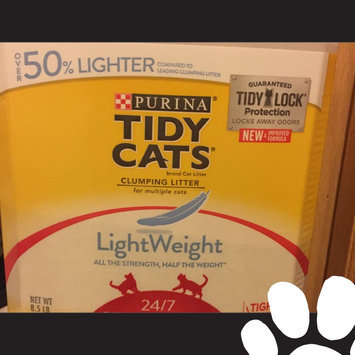 Photo of Purina Tidy Cats Tidy Cats LightWeight 24/7 Performance Scoop Litter Jug - 8.5lb uploaded by Amber P.