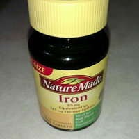 Nature Made Iron Tablets uploaded by Kathy Z.
