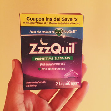 ZzzQuil Nighttime Sleep-Aid Liquid, Warming Berry uploaded by Iqra M.